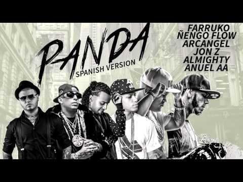 Anuel AA, Ñengo Flow, Arcangel, Farruko, Almighty & Jon Z - Panda Remix (Spanish Version O. A.)