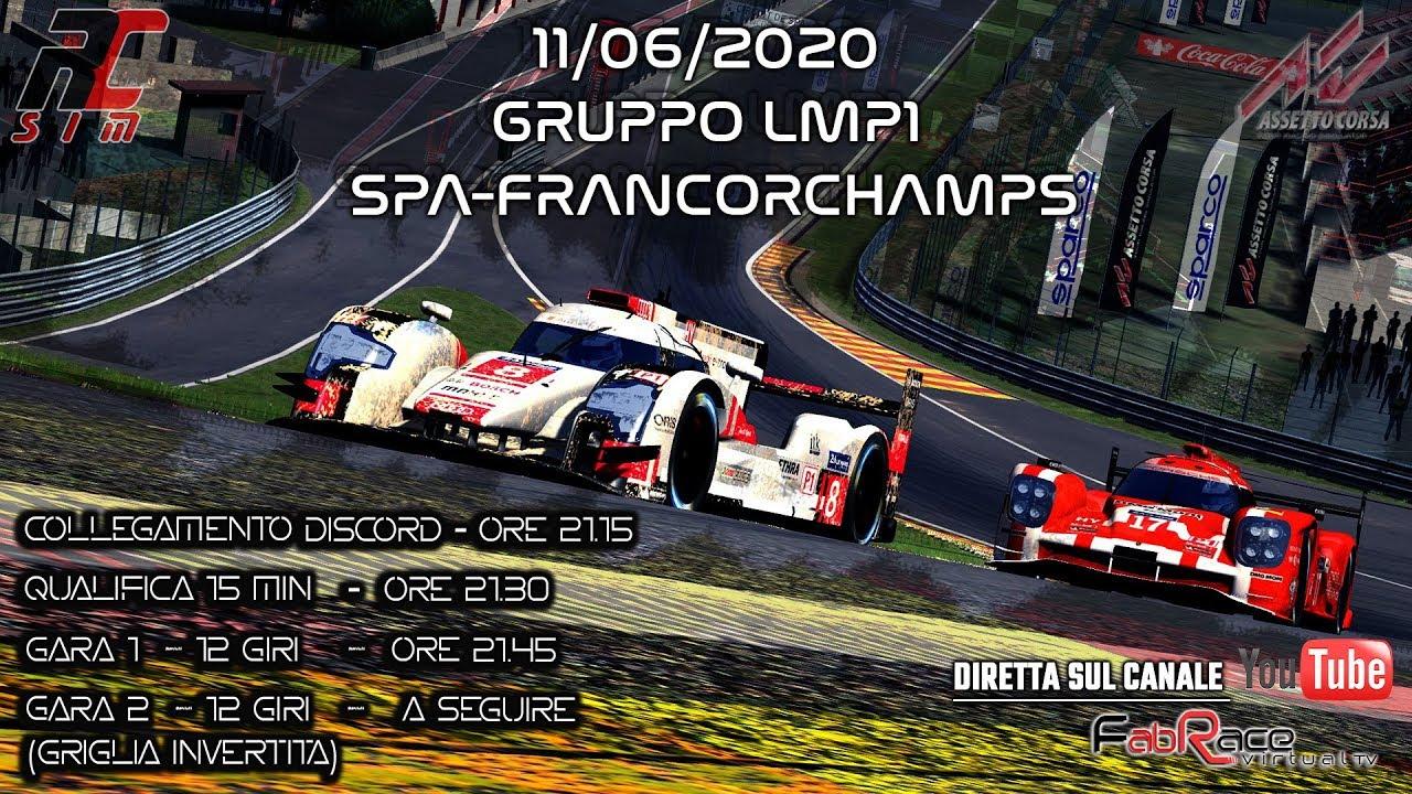 Spa Francorchamps LMP1 by RC Sim