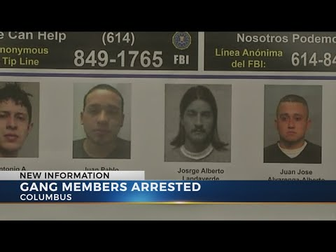 Several members of MS-13 gang arrested in central Ohio