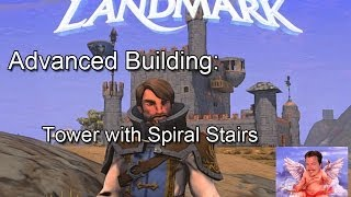 Everquest Next Landmark Building Tower With Spiral Stairs