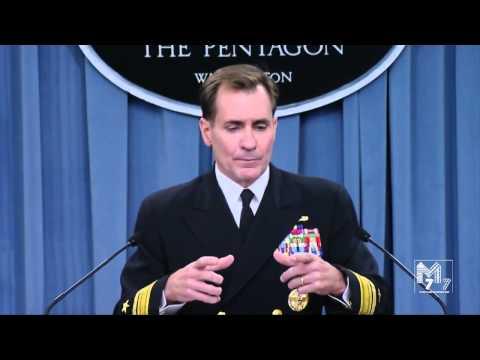 Pantagon: Russian aggressio, Chinese Intercept, ISIS, RADM John Kirby Pentagon Presser