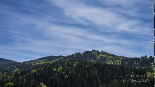 285 Time Lapse Black Forest Clouds Mountains | Zeitraffer Schwarzwald Wolken Himmel Deutschland 4K