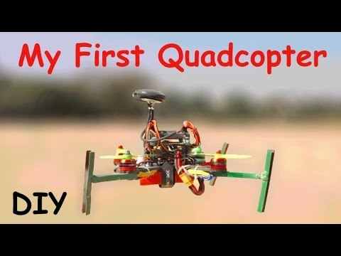 0a4c7beb02a How to Make a QUADCOPTER with MOTOR at HOME that flies easy - YouTube
