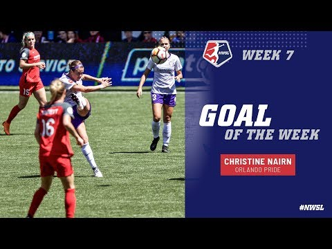 Week 7 Goal of the Week | Christine Nairn, Orlando Pride