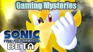 Gaming Mysteries: Sonic The Hedgehog 2006 Beta (360 / PS3 / Wii)