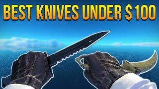 CSGO - Best Cheap Knives Under $100 (2017) Video