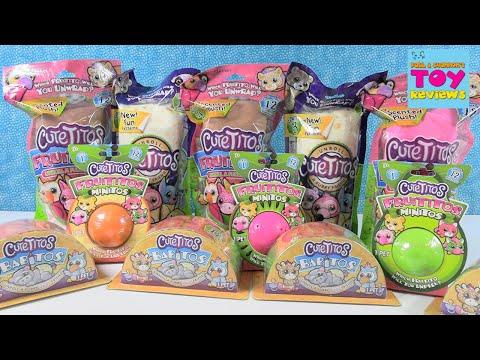 Cutetitos Babitos Fruititos Plush Palooza Opening   PSToyReviews