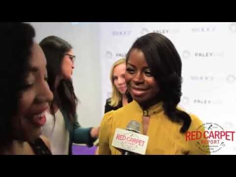 Erica Tazel at the Paley Center's Evening with FX's 'Justified' Event JustifiedFX