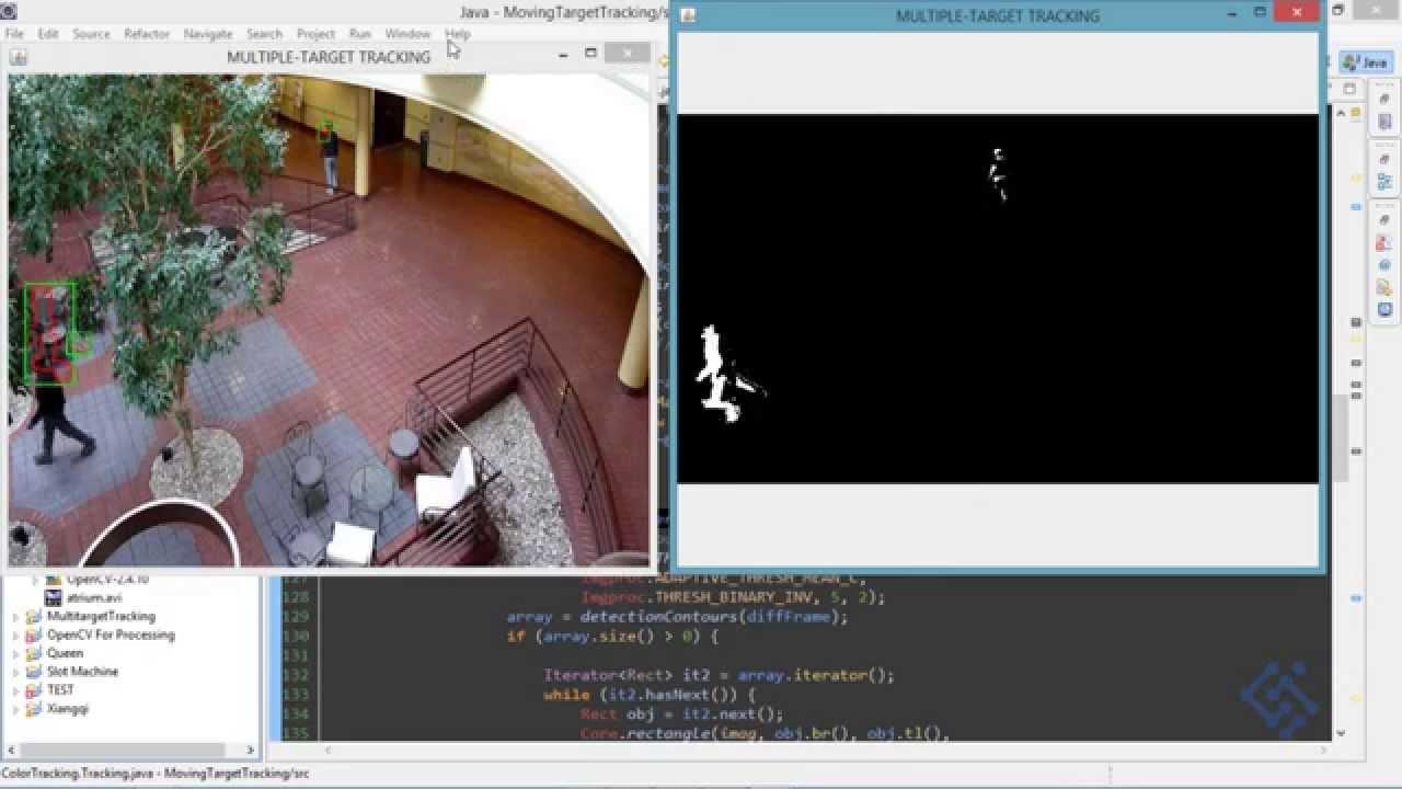 Background Subtraction - Opencv (Java)
