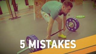 5 травмоопасных ошибок кроссфитеров- ARMA SPORT