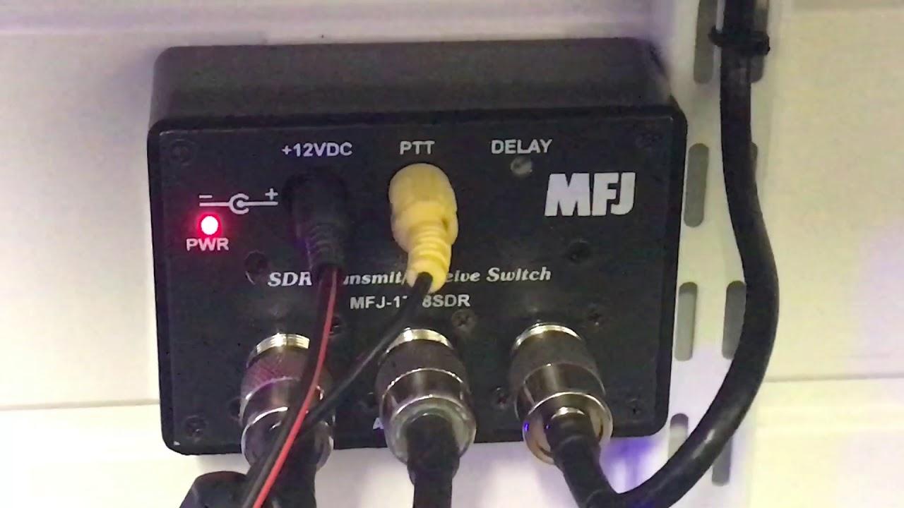 Icom IC7300 panadapter MFJ-1708SDR, SDRPlay, HDSDR and OmniRig