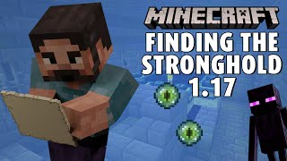 Finding the Stronghold in Minecraft 1.17 ⛏