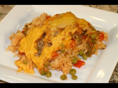Mexican Chicken And Rice Casserole Recipe