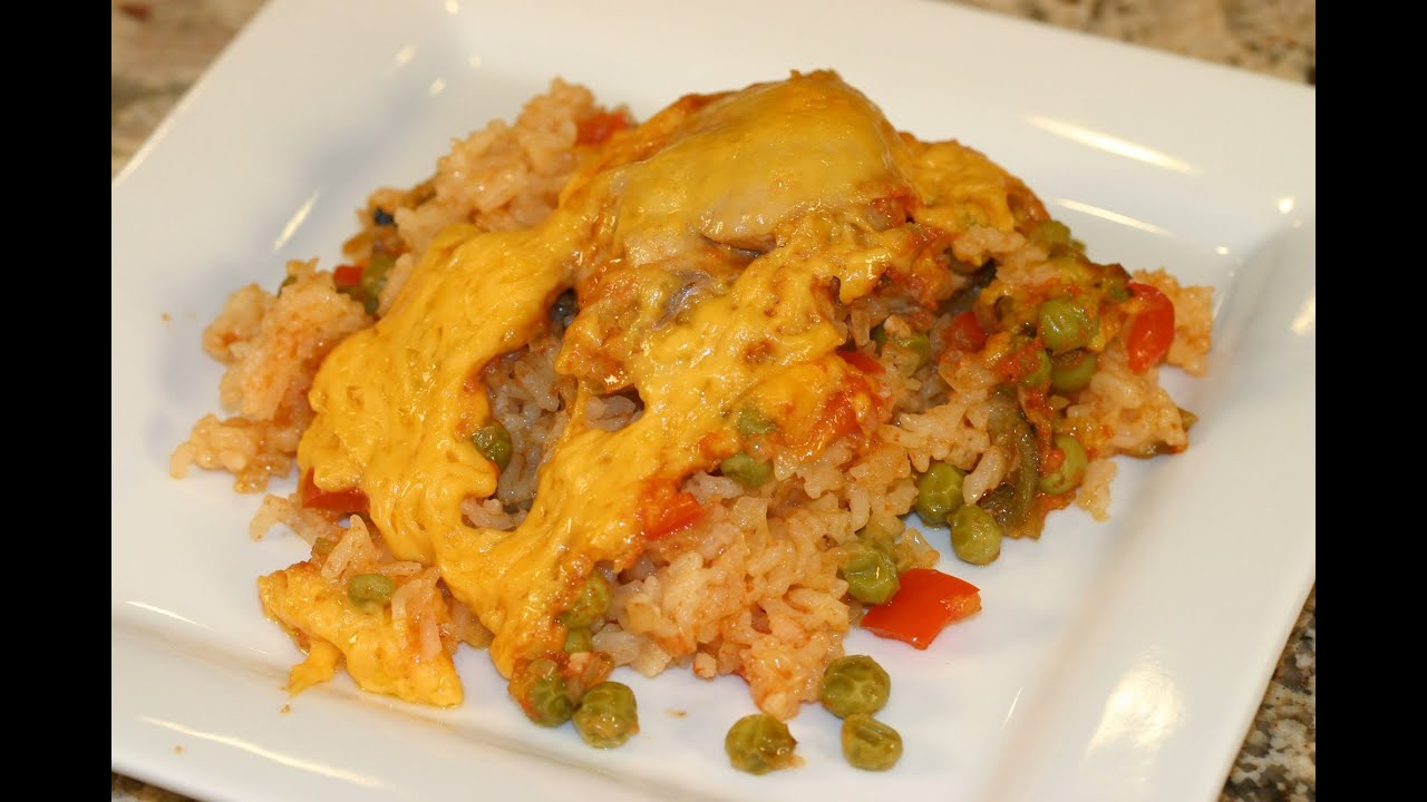 Arroz Con Pollo - Mexican Chicken And Rice Casserole by Rockin ...