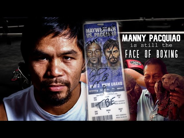 Floyd MAYWEATHER Jr disses Manny PACQUIAO, who is the FACE of BOXING!!!!