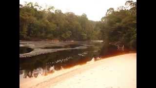 Cuenca del río Caura, parte alta (río Madajano)