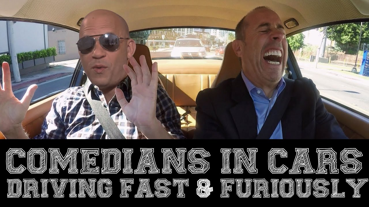 Image result for comedians in cars driving fast and furiously