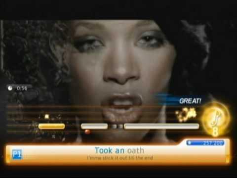 Umbrella | Rihanna feat. Jay-Z | U-SING Girls Night, Karaoke on Wii