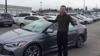 2017 Hyundai Elantra Sport Review Video HD смотреть