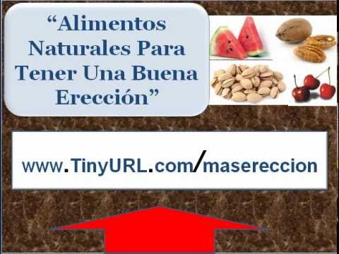 Alimentos para mantener una ereccion prolongada