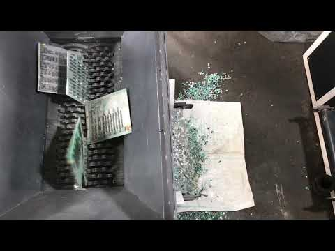 E SCRAP SHREDDING MACHINE | E WASTE SHREDDING MACHINE | CIRCUIT BOARDS SHREDDING MACHINE