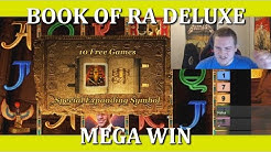 BACK TO BACK BONUS - MEGA WIN - BOOK OF RA DELUXE