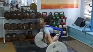 Шумихин Артур, 10 л  с вес 28 кг Рывок 21 кг  Есть личный рекорд!