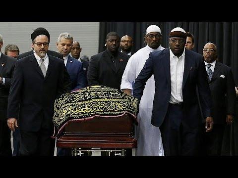 Прощание с легендарным Мохаммедом Али