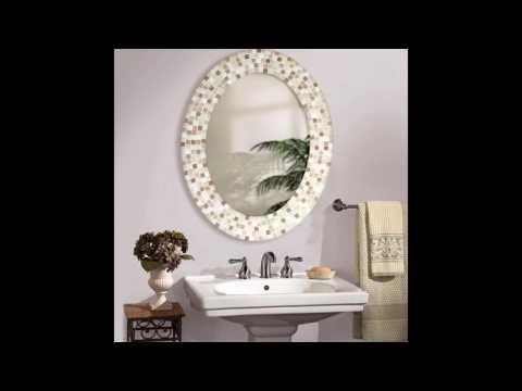 oval bathroom mirrors