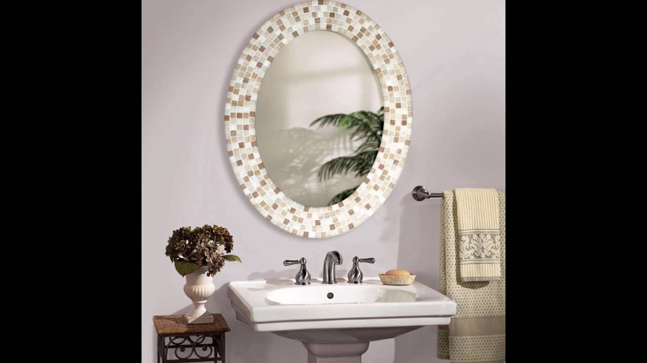 Oval Bathroom Mirrors Youtube
