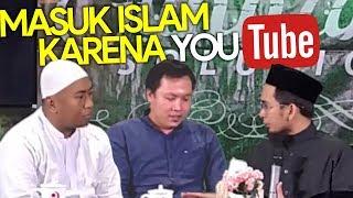 MASYAALLAH😱 2 Pemuda ini MASUK ISLAM karena NONTON YouTUBE - Ustadz Adi Hidayat LC MA