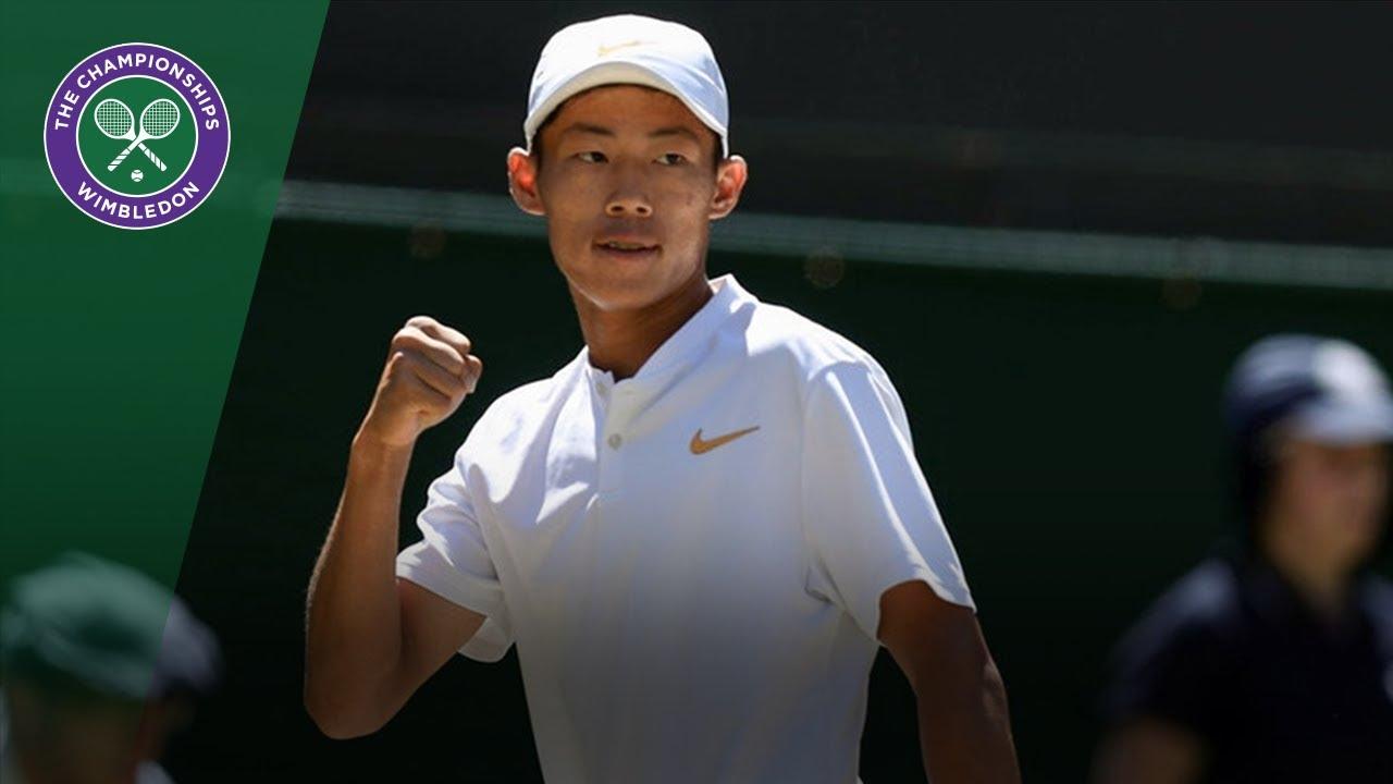 Chun Hsin Tseng wins boys' singles title defeating Jack Draper | Wimbledon 2018
