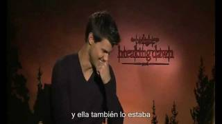 Taylor Lautner Junket Interview Breaking Dawn Part 1 clever tv subtitulos español