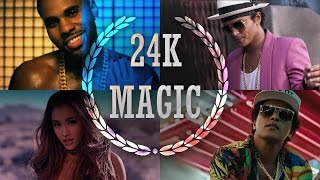 24K Magic – Mashup 2017 – (The Megamix) – Justin Bieber • AGrande & More (T10MO)