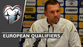 European Qualifiers SERBIA UKRAINE Прес конференція Андрія Шевченка