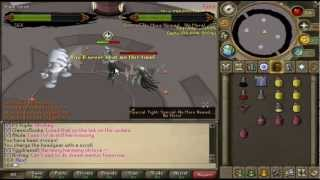 RUNESCAPE: Killing 2 nomads with 3 brews (WHY GANODERMIC ARMOR IS OVERPOWERED)