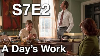 Mad Men Season 7 Episode 2 'A Day's Work'  Review