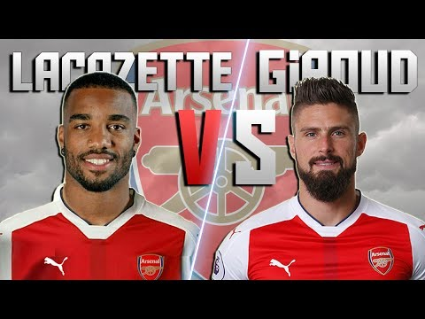 Alexandre Lacazette vs Olivier Giroud ► New vs Old ● Goals & Skills | 2016/17 ᴴᴰ