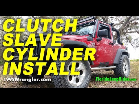 Fixing a hydraulic clutch slave cylinder in a 2007 Wrangler