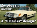 1980 Mercedes-Benz 450SL Test Drive | AutoMoments Time Warp