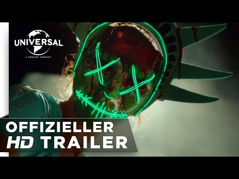Thumbnail: The Purge: Election Year - Trailer german/deutsch HD