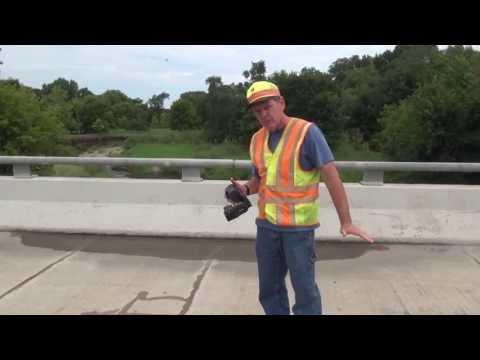 Bridge Deck Inspection Using an Infrared Camera