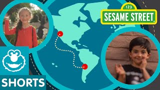 Sesame Street: Two Cousins in USA and Chile Share Their Story