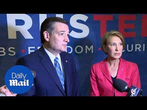Indiana governor to endorse Cruz - Daily Mail