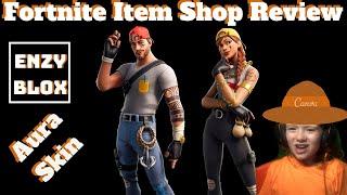 NEW AURA SKIN Fortnite item shop review May 7th 2019   Fortnite Season 8