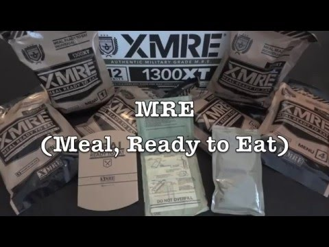 XMRE Flameless Ration Heater FRH Demo