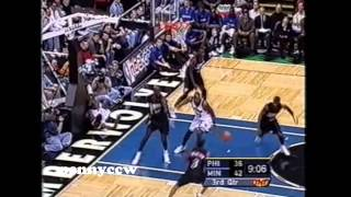 NBA Greatest Duels: Allen Iverson vs. Kevin Garnett (2001) *Biggest Heart in the NBA