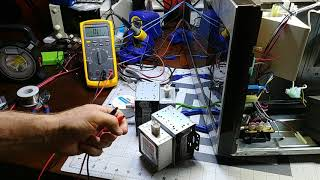 troubleshooting and repairing an lg microwave oven