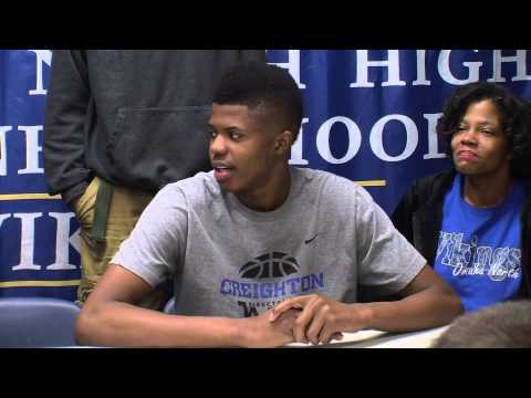 North High Basketball Player Justin Patton Signs to Creighton University