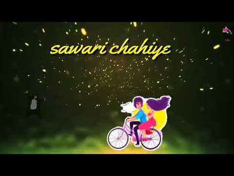 Paidal Chal Raha Hun Gadi Chahiye | Romantic Whatsapp Status Video | RV Edits